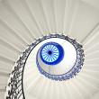 Stairway spiral — Stock Photo