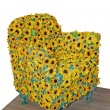Royalty-Free Stock Photo: Sunflower chair