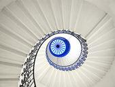 Stairway spiral — Stock Photo