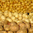 Four potatoes - Stock Photo