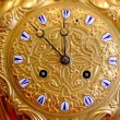Stock Photo: Golden clock