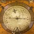Grunge compass — Stock Photo