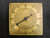 Clock gold — Foto de Stock
