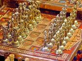Metal chess — Stock Photo