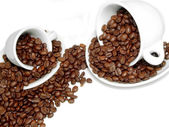 Scatter coffee — Stock Photo