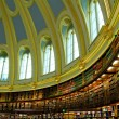 Oval library — Stock Photo