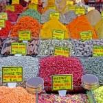Spice market detail — Stock Photo