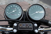 Classic speedometer — Stock Photo