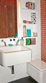 Bathroom detail — Stock Photo