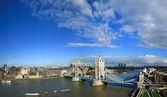 Tower bridge panorama — Stock Photo