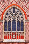 Kyrkans fönster — Stockfoto