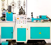 Iron work machine — Stock Photo
