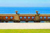 Ocean fence — Stock Photo