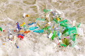 Plastic bottles waste — Stock Photo