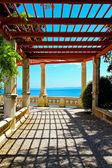 Seaside promenade — Stock Photo