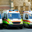 Royalty-Free Stock Photo: Ambulance team