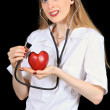 Heart doctor — Stock Photo #3859611
