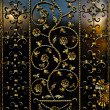 Ironwork fence — Stock Photo #3859701