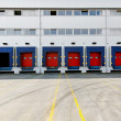 Stock Photo: Loading dock doors