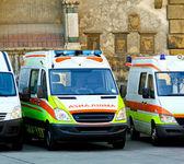 Ambulance tým — Stock fotografie