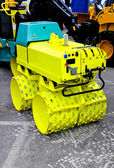 Construction roller — Stock Photo