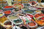 Market spices — Stockfoto