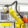 Stock Photo: Robotic arm welder