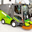 Street cleaner - Stock Photo