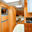 Stock Photo: Camper interior