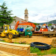 Construction machinery — Foto Stock