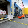 Stock Photo: Forklift vehicle