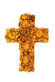 Cross isolated — Stock Photo