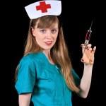 Retro nurse — Stock Photo #3895116