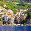 Stock Photo: Riomaggiore panorama