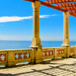 Seaside columns — Stock Photo