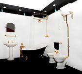 Retro bathtub — Stock Photo
