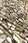 Roman wall — Zdjęcie stockowe