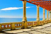 Seaside columns — Stock Photo