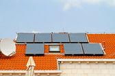 вода солнечных батарей — Стоковое фото