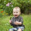Little smiling boy - Stock Photo