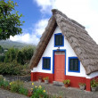 Typical old house on Madeira island — Stock Photo