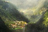 Small village on Madeira island, Portugal — Stock Photo