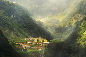 Small village on Madeira island, Portugal — Stock Photo