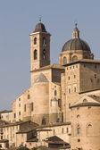 Urbino, a World Heritage Site and a medieval hillside town — Stock Photo