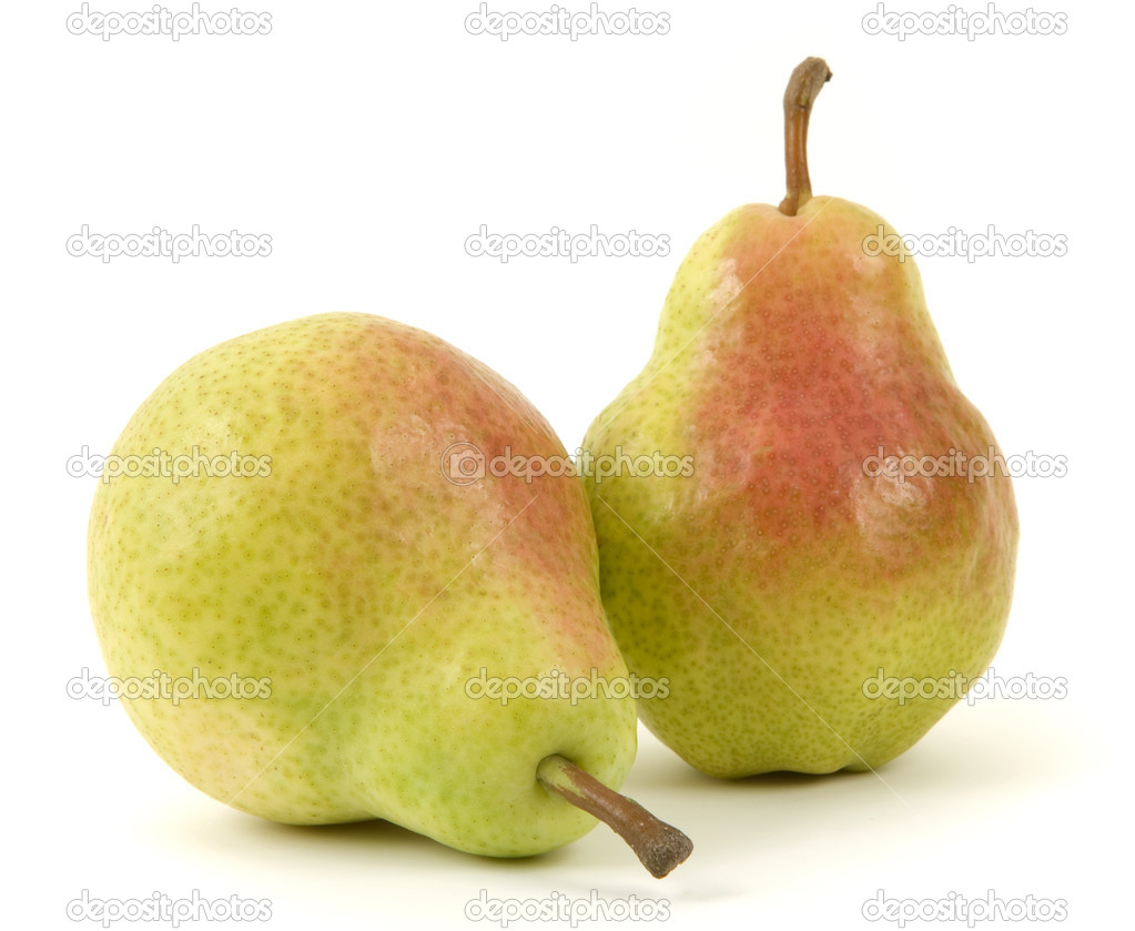 Pear isolated on white background  Stock Photo #2978886