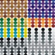 Color circles set seamless backgrounds. — Stock Vector #2811850