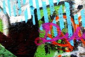Graffiti texture — Stock Photo