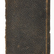 Old Rough Leather Book Cover - Stok fotoğraf