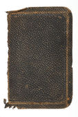 Old Rough Leather Book Cover — Stock Photo