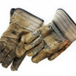 Old Dirty Work Gloves - Stok fotoğraf